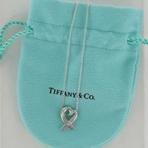 Tiffany Picasso Loving Heart Diamond Necklace